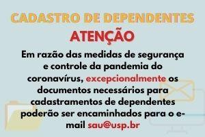 CADASTRO DE DEPENDENTES